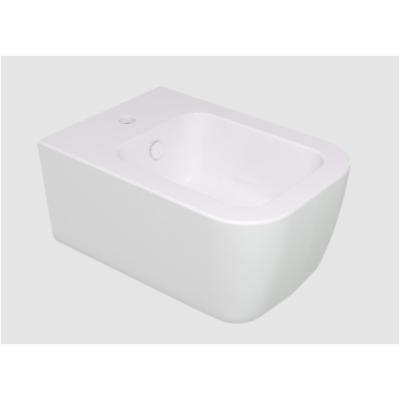 Brio Біде Підвісне 36X52,5 См, Колір Білий Глянцевий