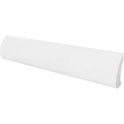 Бордюр 3*15 Pencil Bullnose White 24016