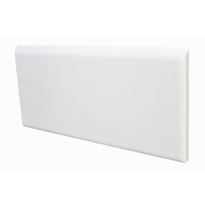 Бордюр 7,5*15 Bullnose Blanco Brillo 21132