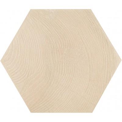 Плитка 17,5*20 Hexawood White 21626