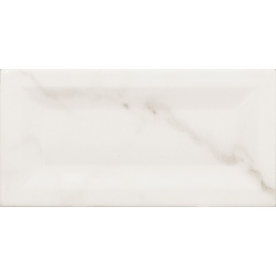 Плитка 7,5*15 Carrara Inmetro Gloss 23081