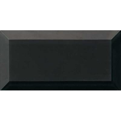 Декор 7,5*15 Vetro Reflect Negro