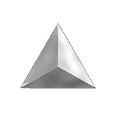 Декор 15*17 Level Silver Glossy