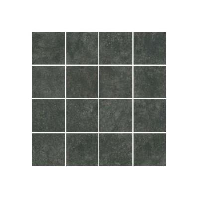 Мозаїка 30*30 (7*7) Cr Belgio Negro Malla Semipulido