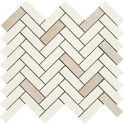 Мозаїка 33,2*128,8 Terracruda Mosaico Degrade Sabbia/luce R06A