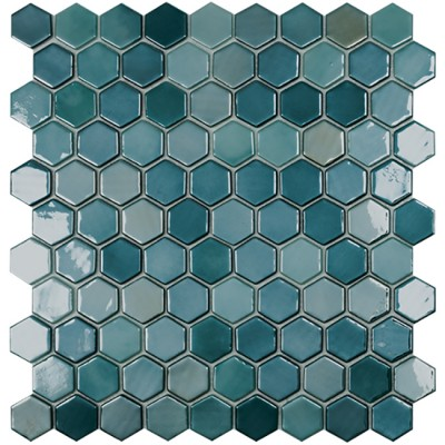 Мозаїка 31,5*31,5 Lux Green Hex 6003H