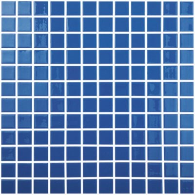 Мозаика 31,5*31,5 Colors Azul Marino Claro 800