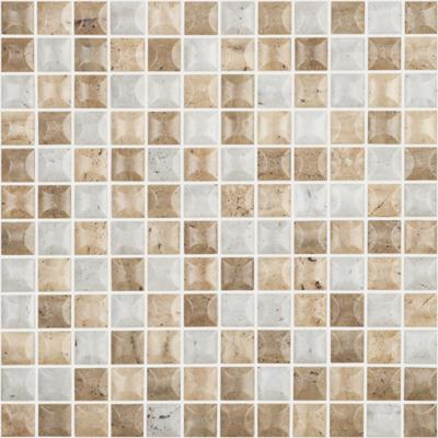 Мозаика 31,5*31,5 Edna Travertino Blend Mt