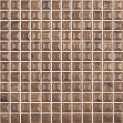Мозаика 31,5*31,5 Edna Wood Nogal Mt