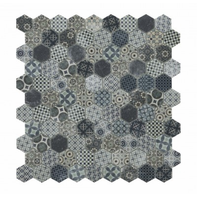 Мозаїка 31,5*31,5 Honey Décor Terre Blue 4706