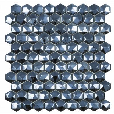 Мозаика 31,5*31,5 Honey Diamond Black 358D