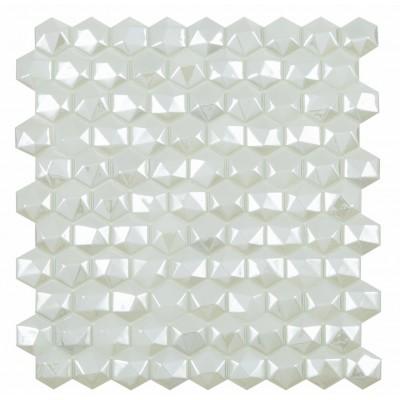 Мозаїка 31,5*31,5 Honey Diamond White 350D