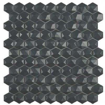 Мозаика 31,5*31,5 Matt Dark Grey Hex 908 D