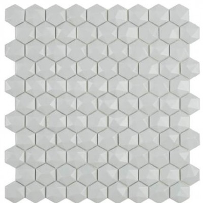 Мозаика 31,5*31,5 Matt Light Grey Hex 909 D