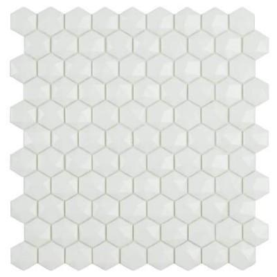 Мозаїка 31,5*31,5 Matt White Hex 910 D