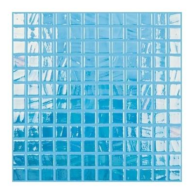 Мозаїка 31,5*31,5 Titanium  Sky Blue/Turquoise Brush 733