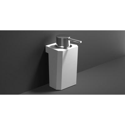 S0 Soap Dispenser  Countertop Resin-Chrome 156283